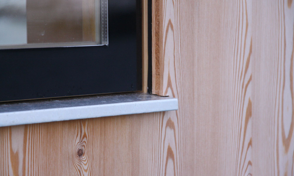 Holzfassade - Bretten